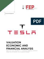 Tesla financial analysis