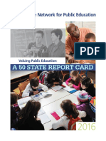 Network for Public Education 50 State Report Card