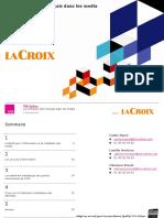 Baromètre médias 2016 LaCroix/TNSSofres