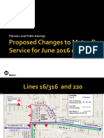 Maps for Service Change Public Hearings