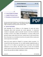 Lec 06 Highway Engineering - Vertical Alignment