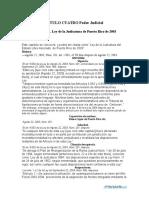Ley Judicatura 2003