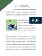DEFINICIÓN DE ECOLOGÍA
