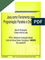 Programação Paralela e Distribuida Em Java