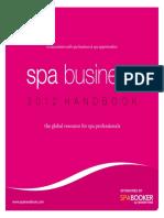Spa Handbook 2012