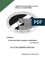 Plan de Gobierno 2015-2016 Colproforh Aprado (1)
