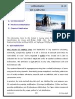 Lec 12 Highway Engineering - Soil Stabilisation