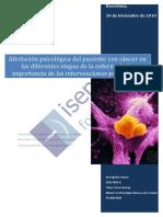 Afectación Psicológica Del Paciente Con Cancer en Las Diferentes Etapas de La Enfermedad