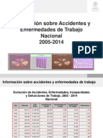 Accidentes en México -- 2005-2014