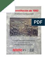 Constitucion-peru-1993 Comentada Enrique Bernales Ballesteros