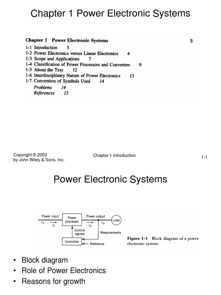 Power Electronics Converters, Applications, And Design | Power Inverter |  Rectifier
