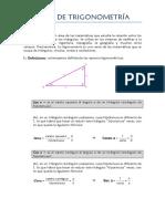 Apuntes de Trigonometría Para 4º ESO (Eddy Ridruejo)