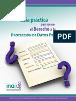 Guia Practica para ejercer el derecho a la protección de datos