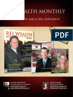 REI WEALTH MONTHLY - MEDIA KIT