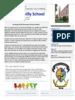 parent newsletter - safety