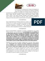 Voto de Censura a Magistrado de La Sala Electoral TSJ 02-02-16