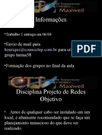 Projetode Redes