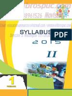 SYLLABUS SEC COMPLETO 2016