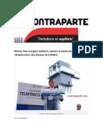 03-01-2016 Contraparte - Moreno Valle Inaugura Teleférico, Ejemplo Al Desarrollo e Infraestructura, Dice Enrique de La Madrid