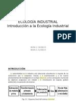 01.- ECOLOGÍA INDUSTRIAL Introducción a La Ecología Industrial