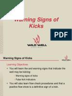 Warning Signs of Kicks