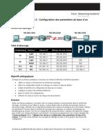 TP05 - Routeur Cisco - Config Basique Routeur