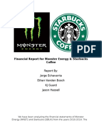 financialreportformonsterenergy docx
