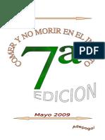 Comer y No Morir en El Intento 7c2aa Edicic3b3n Mayo de 2009