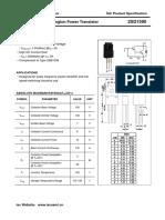 Transistor Rav 4 Data Sheet
