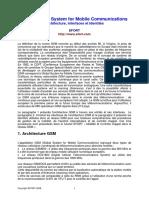 EFORT_GSM_Architecture, Interfaces Et Identités
