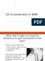 us involvement in wwi - apush