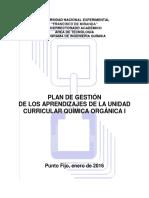 Plan de Gestión Jesús Flores
