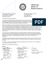Letter to Secretary's Foxx and Kerry