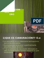 Cianuracion Del Oro Xd