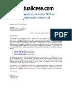 NIIF Propuesta Plan Implementacion en PH