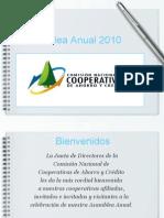 Asamblea anual Comisión Nacional de Cooperativas de Ahorro y Crédito de Puerto Rico 2010