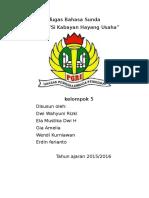 Tugas Bahasa Sunda