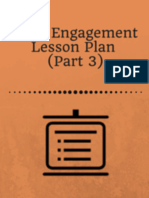 Civic Engagement Lesson Plan (Part 3)
