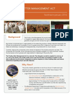 Poultry Litter Management Act Fact Sheet 012716 1