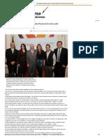 29-01-16 Encabezan Gobernadora Claudia Pavlovich lucha anti adicciones - El Reportero
