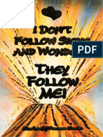 (Epub) I Don't Follow Signs & Wonders, They Follow Me - Charles & Frances Hunter