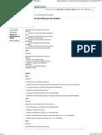 Latim Genérico_ Objetivos de Aprendizagem Dos Módulos