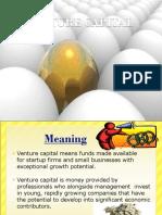 Financing the venture