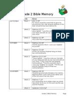 grade 2 bible memory  6