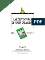 Ficha Las Desventuras de Juana Calamidad