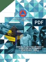 Actualizado Manual de Uso Para Norma de Reducción de Desastres Número Dos Nrd-2