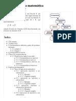 Correspondencia Matemática - Wikipedia, La Enciclopedia Libre