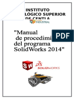Manual de Procedimientos Solidworks