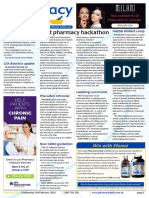 Pharmacy Daily for Wed 03 Feb 2016 - First pharmacy hackathon, GSK Boostrix reassurance, PSA safari refresher, Health AMPERSAND Beauty and much more