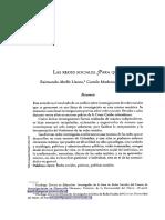 Las Redes ¿Para Que. R. Abello-C. Madariaga